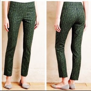NWT Anthropologie Cartonnier Kelly Cropped Pants